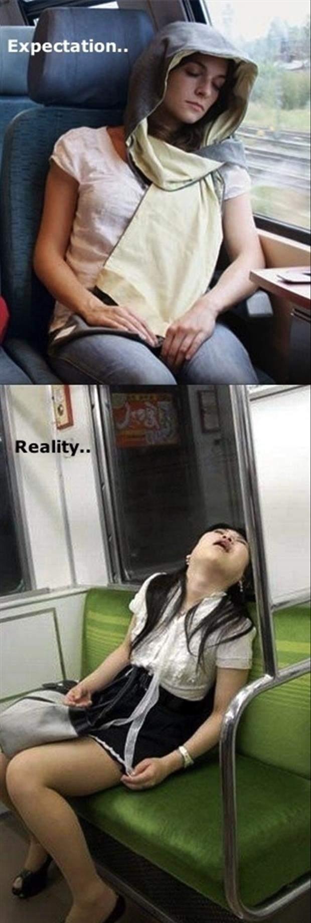 sleeping in public - meme