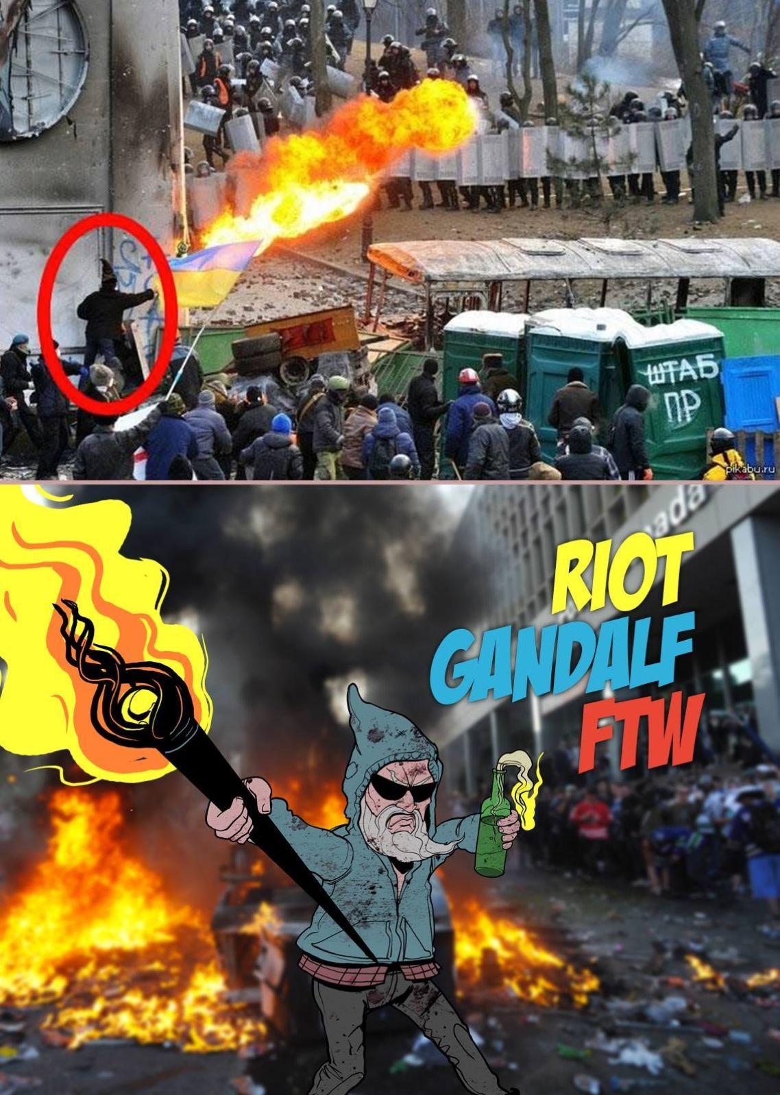 Riot Gandalf is the best Gandalf - meme