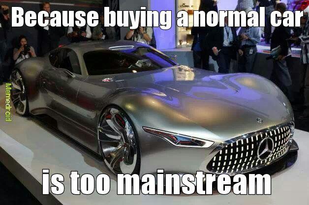 expensive cars - meme