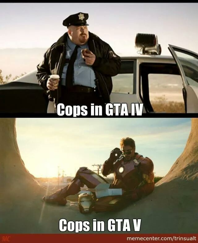 Gta evolution - meme