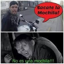El motochorro - meme
