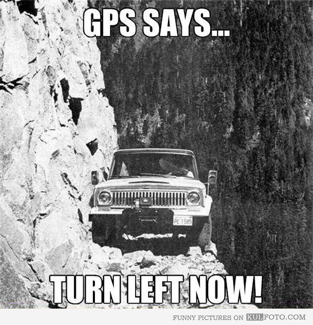 dammit GPS - meme