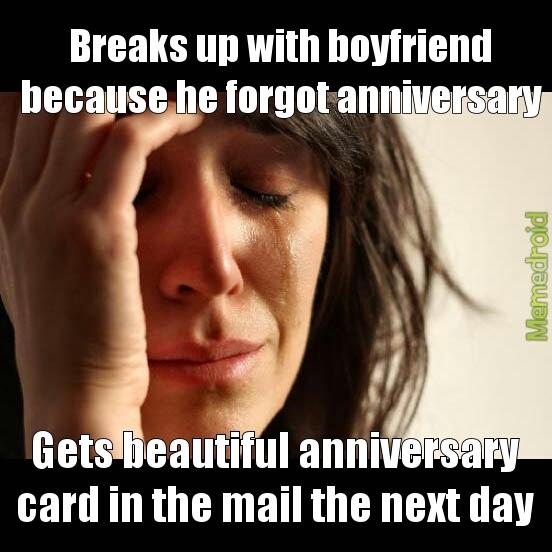 break up - meme