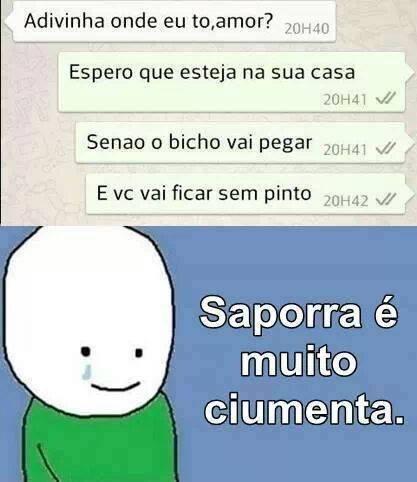 ;-( AGR A PORRA FICOU SERIA! - meme